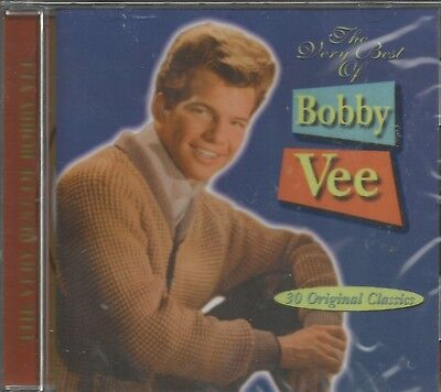 The Very Best Of BOBBY VEE - CD - 30 Original Classics - BRAND (The Very Best Of Bobby Vee)