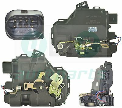 FRONT RIGHT DRIVER SIDE DOOR LOCK MECHANISM SEAT LEON TOLEDO MK2 SKODA OCTAVIA