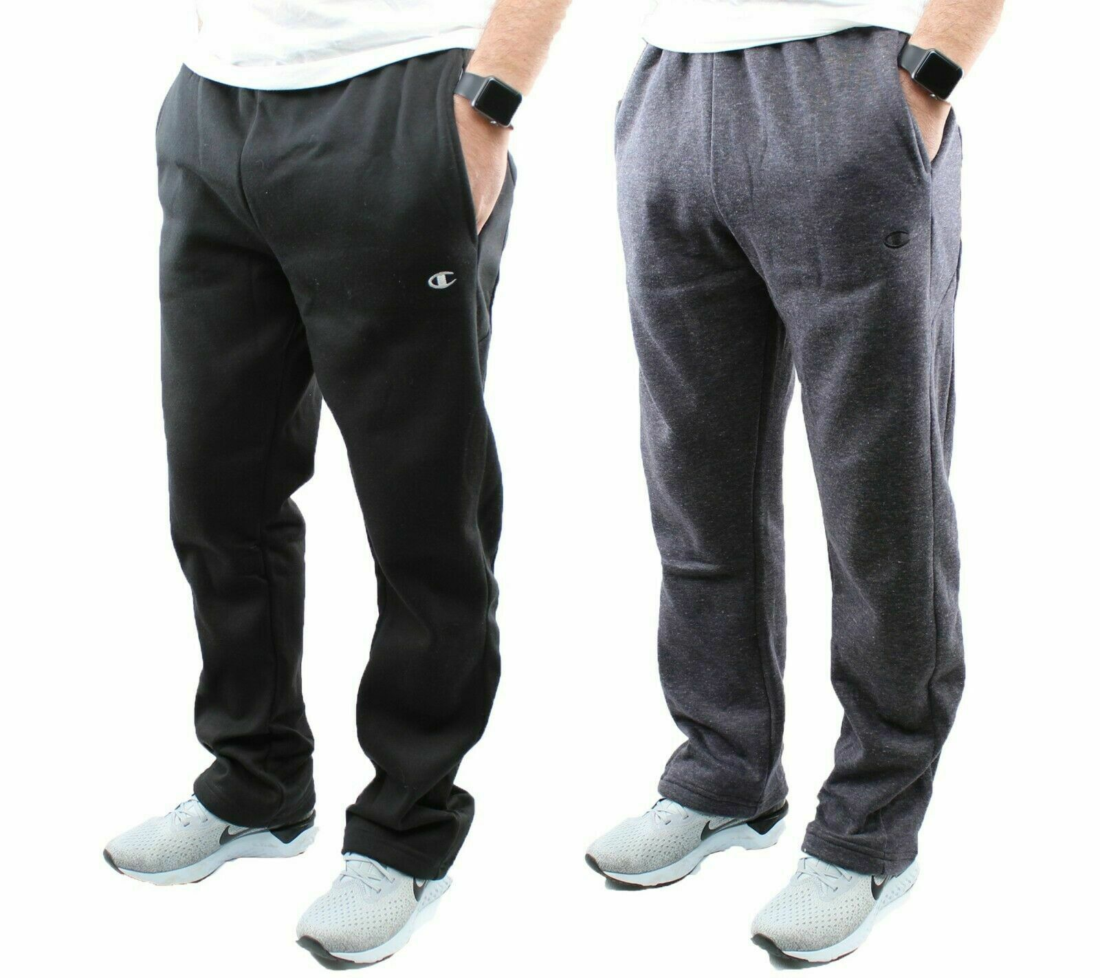 Champion Fleece Sweatpants Men's Athletic Training Pants Act