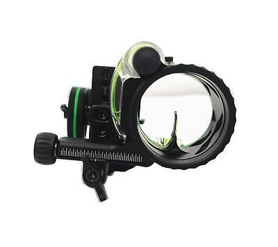 Black Mountain Right Hand Carbon Dr Single Pin Driver Bow Sight #42459