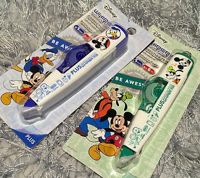 2x Disney Mickey Mouse Correction Taps Whiper Mr Plus Whiteout Goofy Donald Duck
