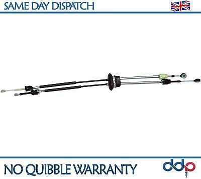 For Citroen Dispatch, Peugeot Expert, Fiat Scudo Gear Selector Linkage Cable Set