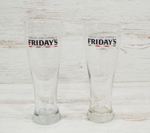 Set of 2 NEW TGI FRIDAYS / TGIF Draft Glasses