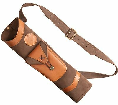 Bear Archery Traditional Leather Arrow Quiver #AT100BQ