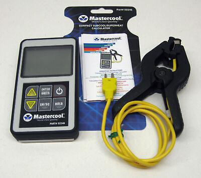 52246 Mastercool Superheat Subcool Calculator Digital Ac Hvac Refrigeration