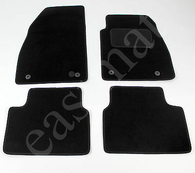Car Parts - Vauxhall Insignia 2008-2013 MK1 Tailored Carpet Car Mats Black 4pc Floor Mat Set