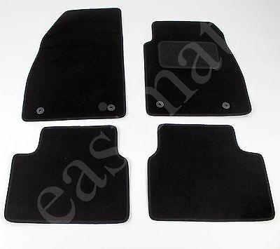 Car Parts - Fits Vauxhall Insignia 2008-2013 MK1 Tailored Carpet Car Mats Black 4pc Mat Set