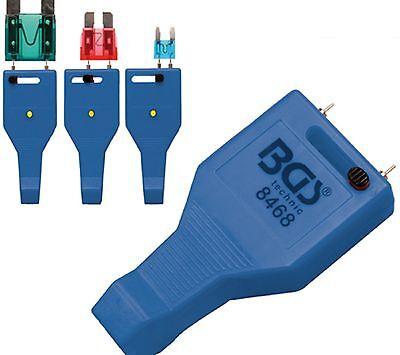 Sicherungstester für Mini- Standard und Maxi-Sicherungen  LED angezeigt BGS 8468