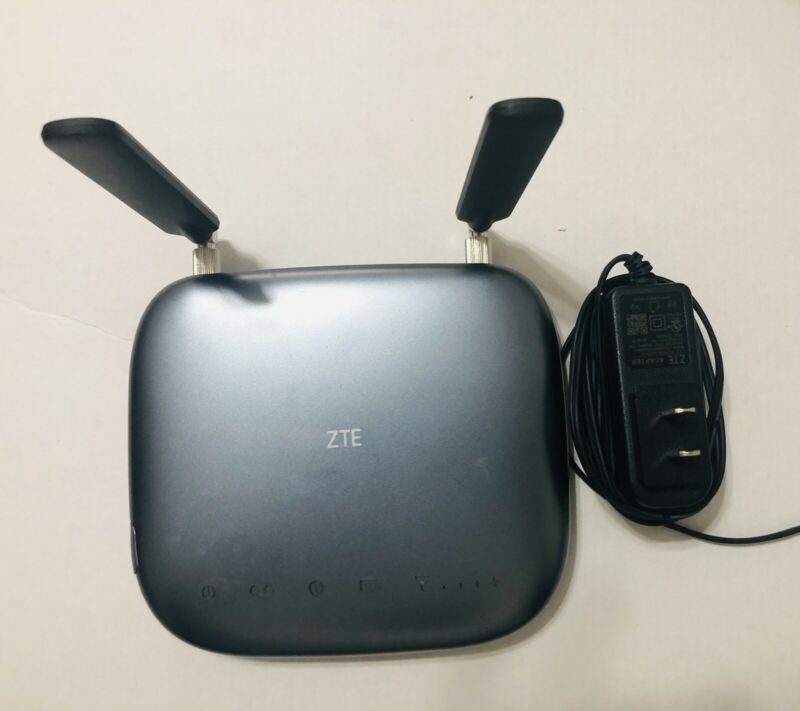 Consumer Cellular ZTE Wireless Home Phone Base