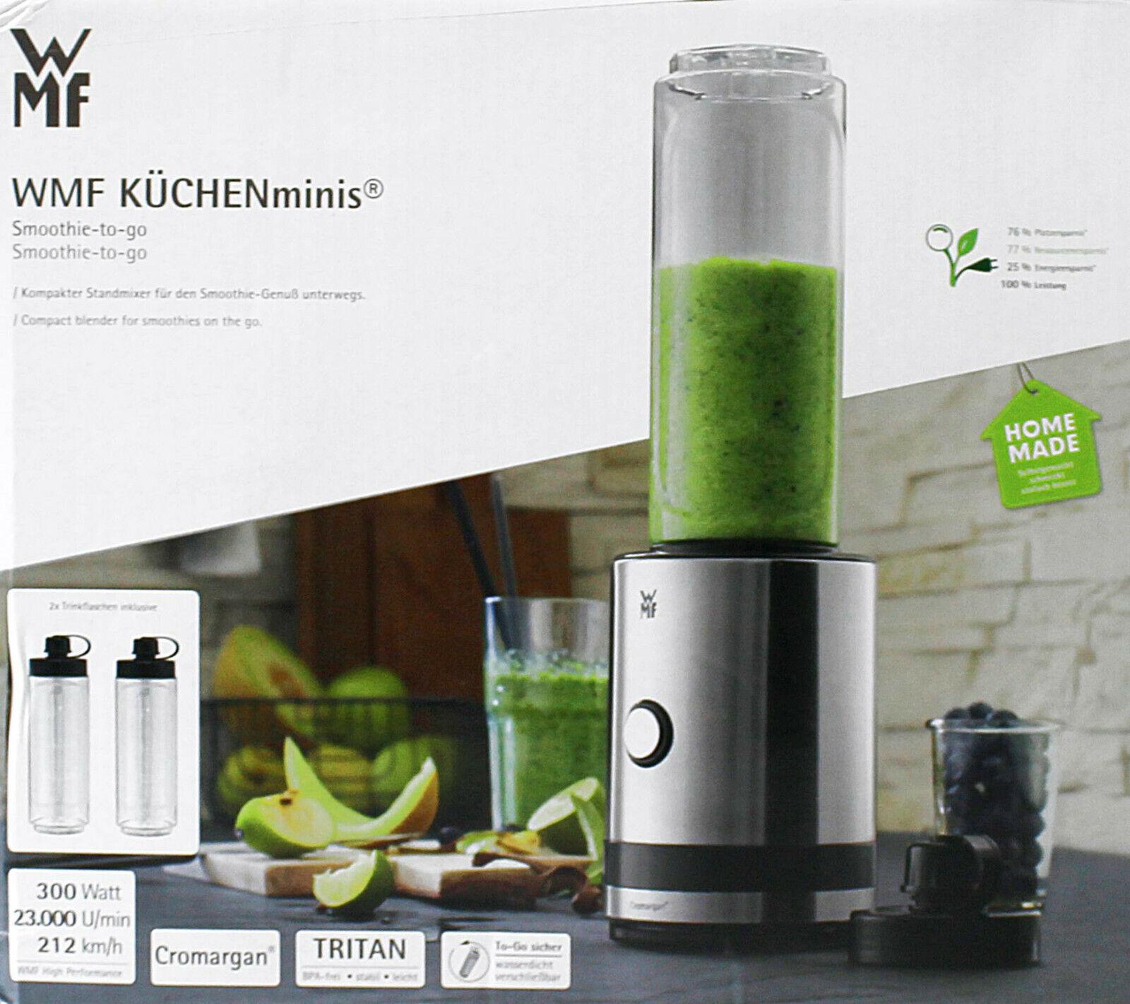 WMF Küchenminis Smoothie-to-go Standmixer (MZ60U12)