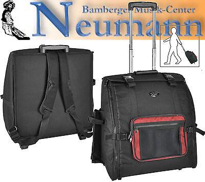 Akkordeon Trolley Premium Deluxe Rucksack für 96 Bass gebraucht kaufen  Bamberg