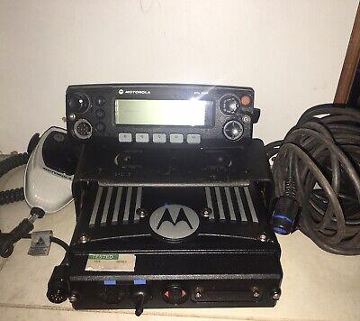 Motorola XTL2500 VHF 136-174 50watt Mobile Radio M21KSM9PW1AN Including HMN1090C