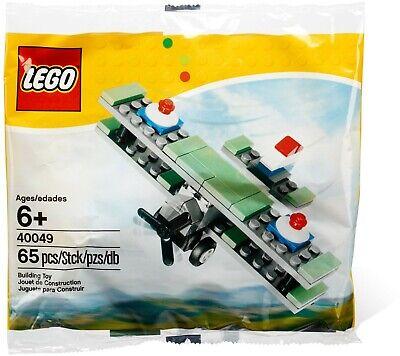lego poly 40049 Mini Sopwith Camel WW1 airplane biplane great birthday gift NEW