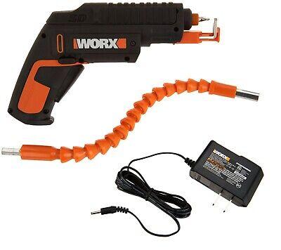 WORX WX255L.2 SD Cordless Screw Driver w/ Screw Holder & Flex Extension