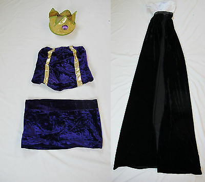 Sleeping Beauty Witch Costume (Evil Maleficent Halloween Costume Sleeping Beauty Fairy Tale NEW Witch Sexy)