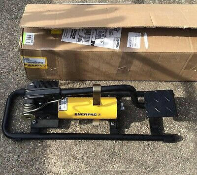 Enerpac New P392fp Hydraulic Foot Pump 2 Speed 10000 Psi