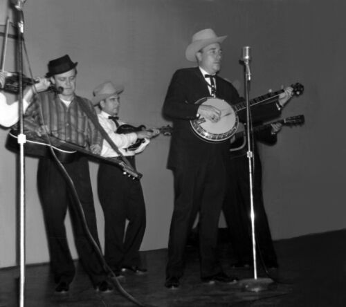 Flatt & Scruggs Concert Photo