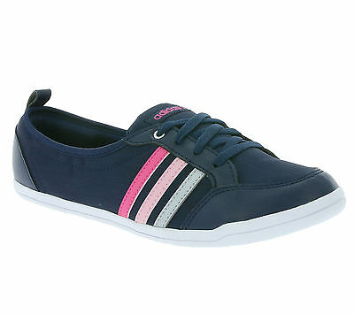 reputable site 55fff 2116d ... NEW adidas neo Piona W Shoes Womens Ballerina Low shoes Blue F97717 .