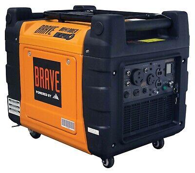 4100w Generator Inverter Electric Start W Remote Start Efi Wheel Kit