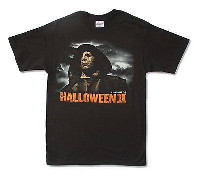 Halloween II 2 Cloaked Michael Mens Black T Shirt New Official Rob Zombie