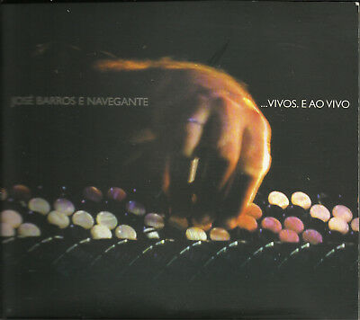 CD JOSE BARROS E NAVEGANTE / VIVOS E AO VIVO