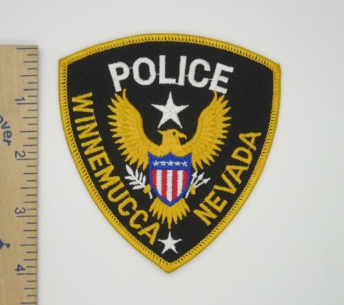 WINNEMUCCA NEVADA POLICE PATCH Vintage Original