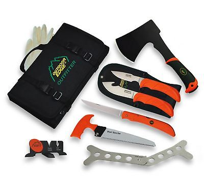 Outdoor Edge The Outfitter Complete Professional Hunting Knife Set -