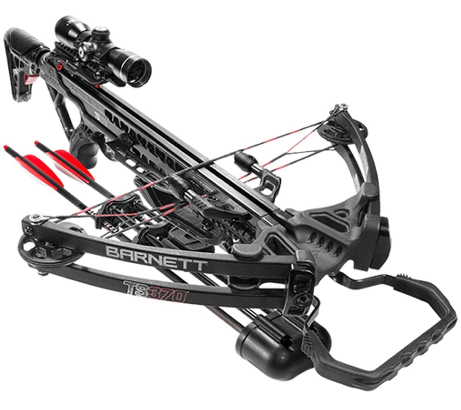 Barnett TS370 Crossbow Package - 78001 - Great for Deer Hunt