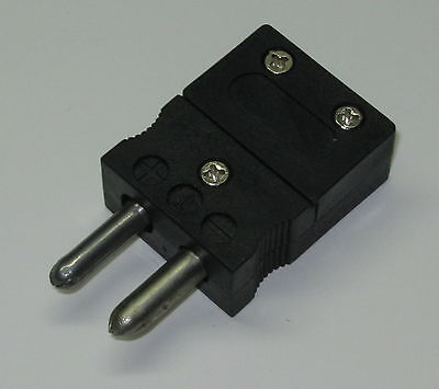 Standard J-type Connector Plug Male For J-type Thermocouple Wire Sensor Probe
