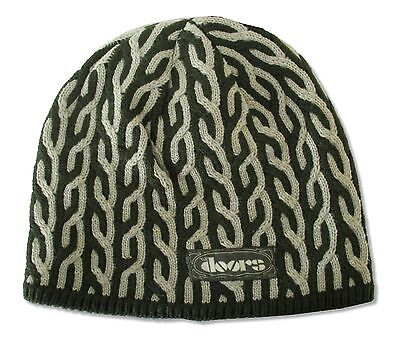 THE DOORS MORRISON HOTEL PATTERNED SKI HAT BEANIE NEW OFFICIAL LICENSED