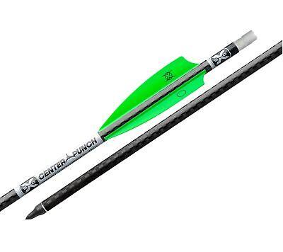 "TenPoint EVO-X CenterPunch 20"" Carbon Crossbow Arrow w/ Alpha Nocks 6-PACK"