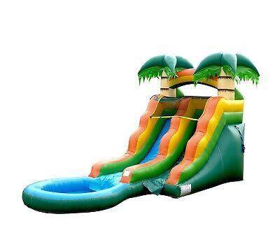 13 Ft Tall Summer Breeze Water Slide (Blower -