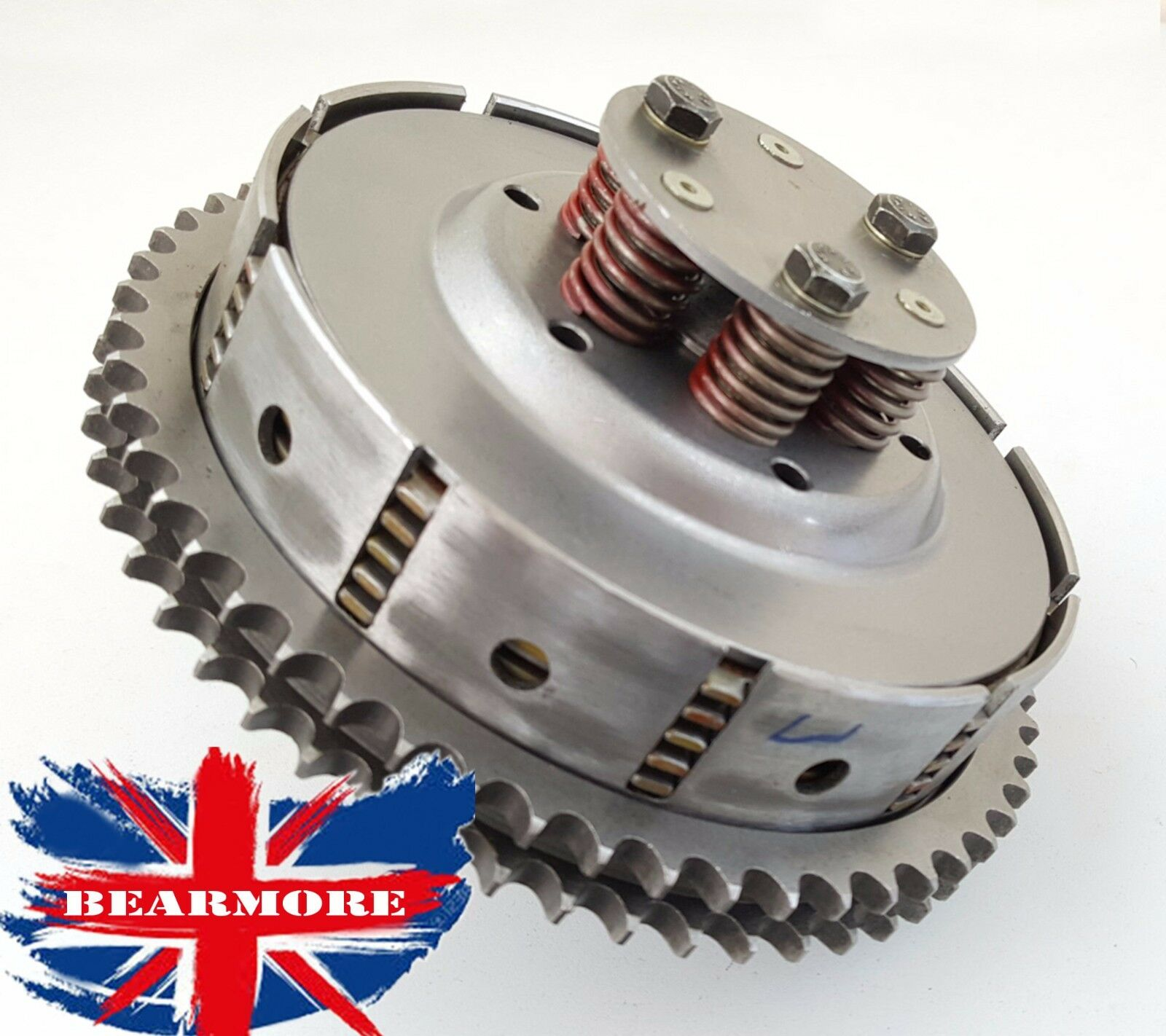 CLUTCH 5 SPEED 5 PLATE ASSEMBLY 5 PLATE FOR ROYAL ENFIELD ELECTRA BULLET 5SPEED