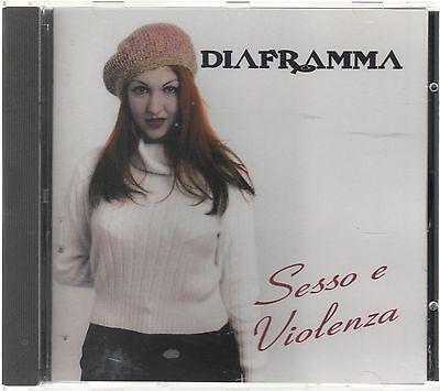 DIAFRAMMA SESSO E VIOLENZA  CD F.C. COME NUOVO!!!
