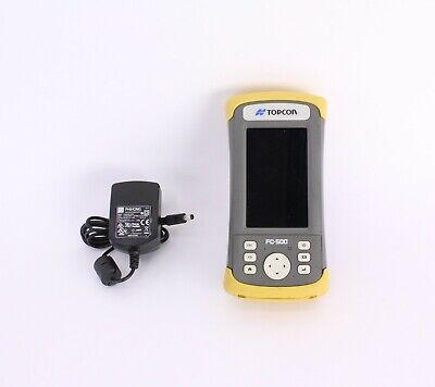 Topcon Fc-500 Gps Data Collector W Pocket-3d Software Version 12.2