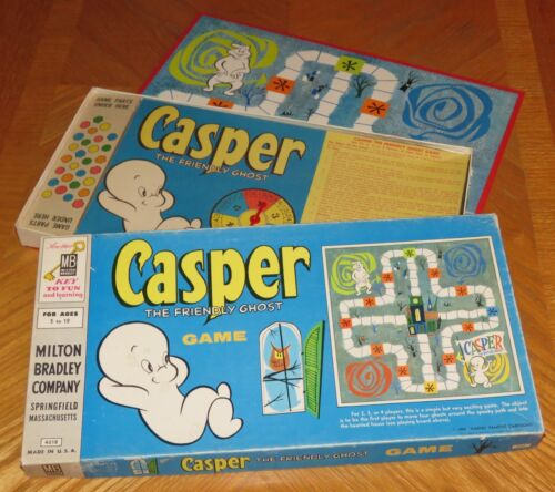Vintage 1959 Casper the Friendly Ghost Board Game - Complete & Nice