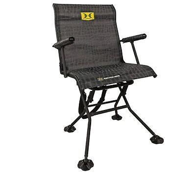 Hawk Stealth Spin Ground/Box Blind Chair #3103