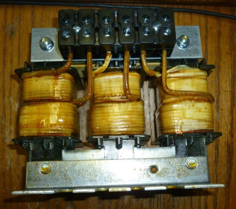 Trans-coil KLR18ATB 3 Phase Reactor 60hz 600v 18amp