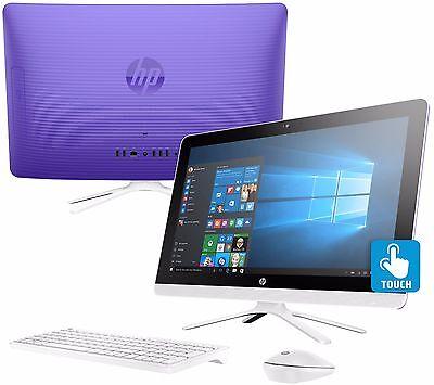 Hp All In One 24  Ips Touchscreen Computer 8Gb Intel Pentium 1Tb Hd Windows 10