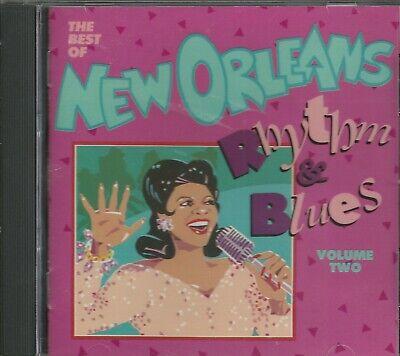 THE BEST OF NEW ORLEANS RHYTHM & BLUES - VOL II - CD - BRAND