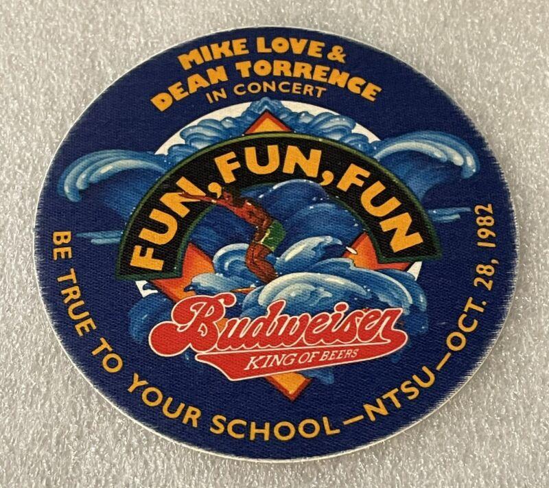 "OriginalVintage1982 Mike Love Of The Beach Boys "" Fun Fun Fun "" Pass"