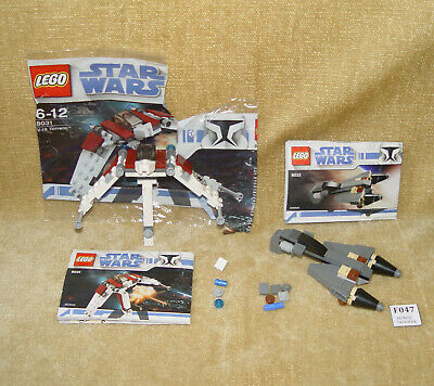 LEGO Sets Star Wars: 8031-1 V-19 Torrent AND 8033-1 General Grievous Starfighter gebraucht kaufen  Versand nach Germany