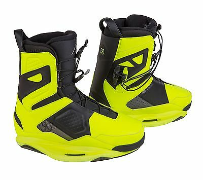 Ronix 2015 One Boot Yellow Size 12 Wakeboard Binding