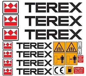 TEREX-DUMPER-MINI-DIGGER-DECALS-STICKERS