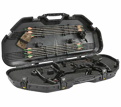 Plano Bow Guard All Weather Lockable Bow Case 108115 (Yellow Accents)