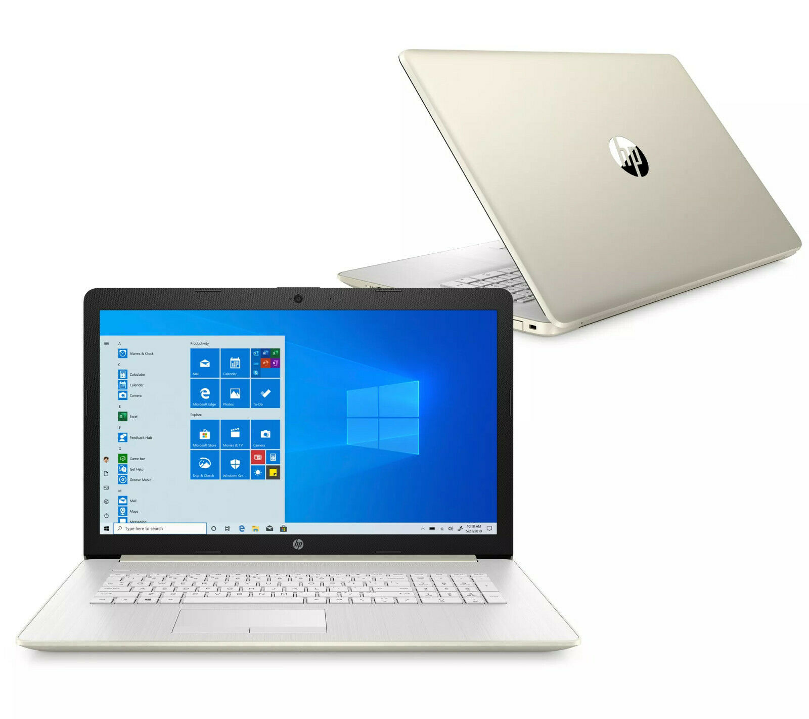 HP 17.3 TOUCHSCREEN INTEL DUALCORE 512GB SOLID STATE DRIVE 8GB RAM DVDRW LAPTOP