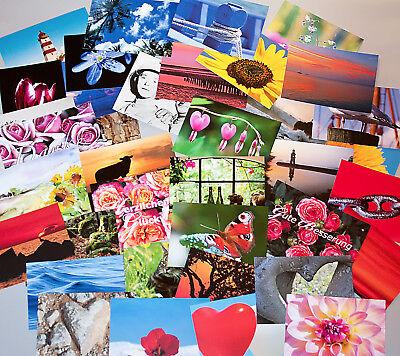 NEU — Postkarten Aktion:  40 Postkarten, verschiedene Motive, 2 Formate
