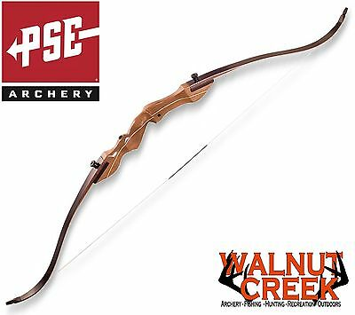 PSE Stalker Right Hand 60 inch 50 lb Recurve Bow 41760R6050