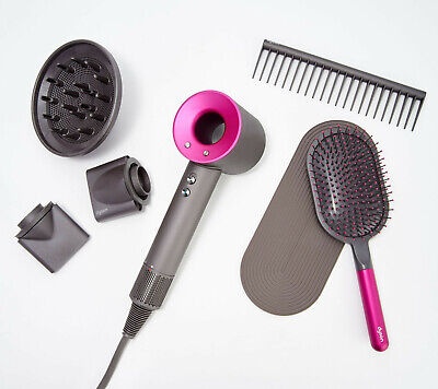 ASCIUGACAPELLI PHON SPECIAL EDITION DYSON SUPERSONIC ROSA KIT STYLING INCLUSO