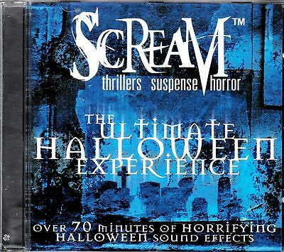 SCREAM: THE ULTIMATE HALLOWEEN EXPERIENCE PIRATES, CARNIVAL & MORE SOUND EFFECTS